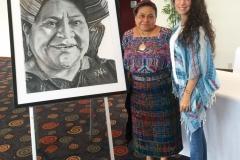 Homenaje a Rigoberta Menchú